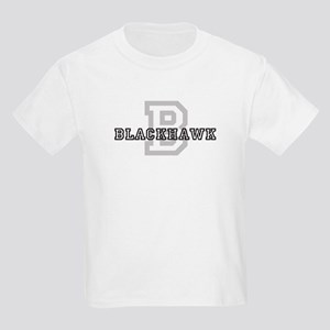 Blackhawk (Big Letter) Kids T-Shirt