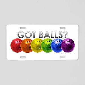 Got Balls? Aluminum License Plate