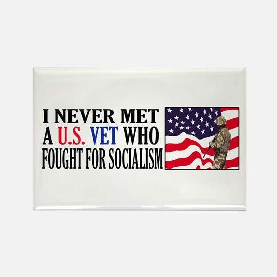 I Never Met A US Vet Who Fought For Socialism Rect