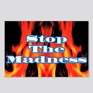 StopMadness Postcards (Package of 8)