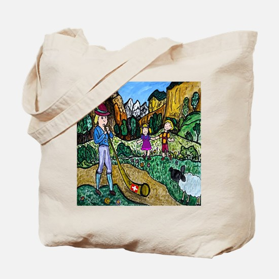 Alpen Dance Tote Bag