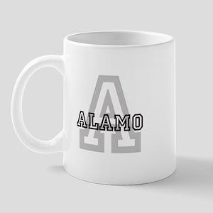 Alamo (Big Letter) Mug