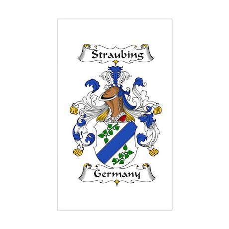 Straubing I (custom) Sticker (Rectangle)