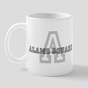 Alamo Square (Big Letter) Mug