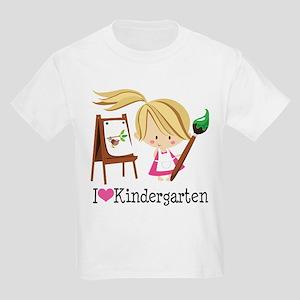 I Heart Kindergarten Kids Light T-Shirt