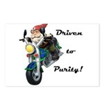 Driven to Purity Postcards (Package of 8)