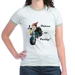 Driven to Purity Jr. Ringer T-Shirt