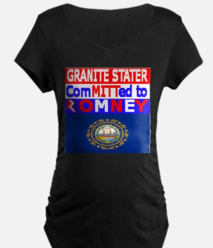 NEWHAMPSHIREROMNEYFLAG.PNG T-Shirt