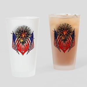Celebrate America 3 Drinking Glass
