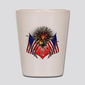 Celebrate America 3 Shot Glass