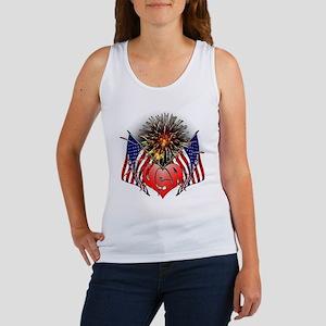 Celebrate America 3 Women's Tank Top