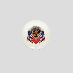 Celebrate America 3 Mini Button