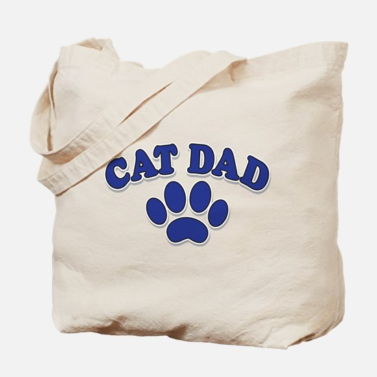 Cat Dad/Father's Day Tote Bag