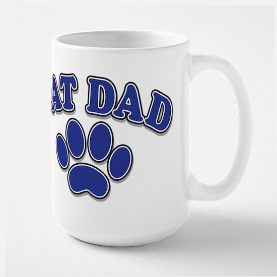 Cat Dad Large Mug