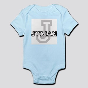 Julian (Big Letter) Infant Creeper