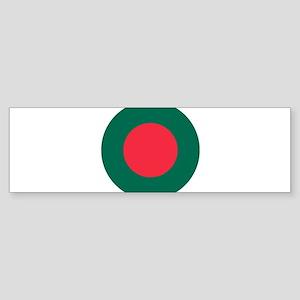 Bangladesh Roundel Sticker (Bumper)