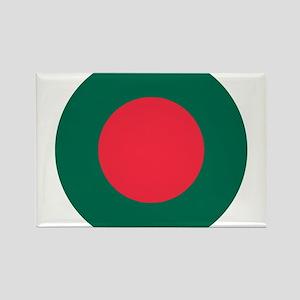Bangladesh Roundel Rectangle Magnet