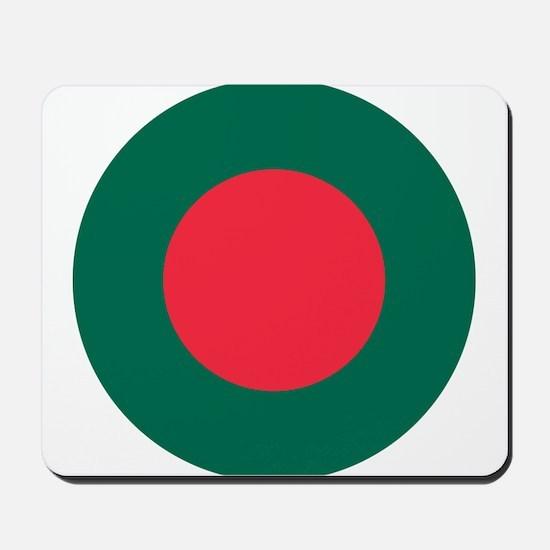 Bangladesh Roundel Mousepad