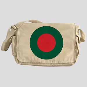 Bangladesh Roundel Messenger Bag