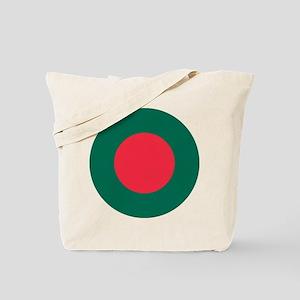 Bangladesh Roundel Tote Bag