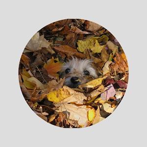 """Cairn Terrier 3.5"""" Button"""