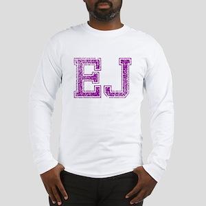 EJ, Vintage Long Sleeve T-Shirt