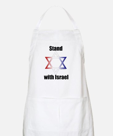 Stand with Israel BBQ Apron