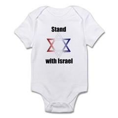 Stand with Israel Infant Creeper