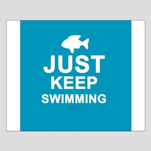 Keep Swimming Small Poster
