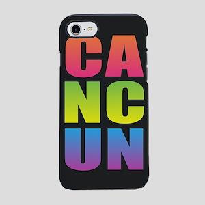 Cancun Black Rainbow iPhone 7 Tough Case