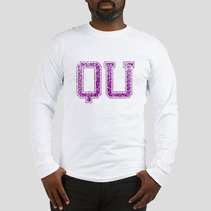 QU, Vintage Long Sleeve T-Shirt