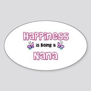 Happiness Is Being A Nana Sticker