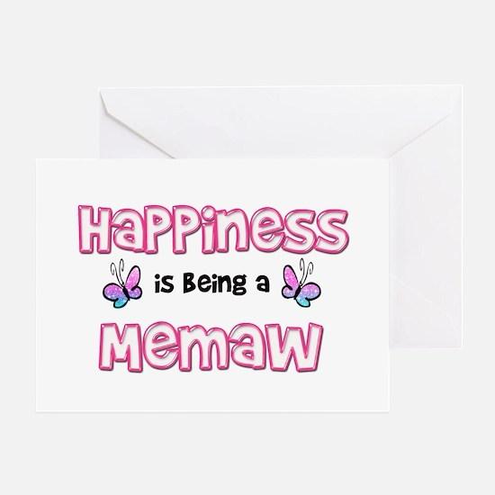 Cute Memaw Greeting Card