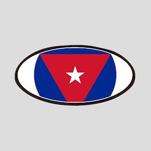 Cuba Roundel Patches