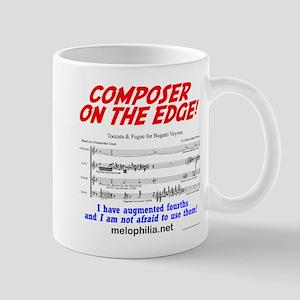 composer on the edge Mug