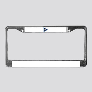 Estonia Roundel License Plate Frame