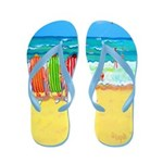 Front Row Seasts Women Beach Flip Flops