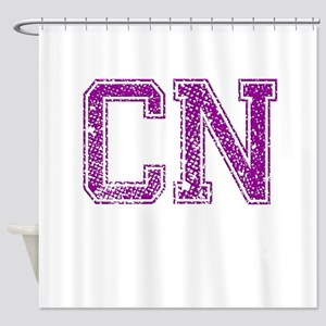 CN, Vintage Shower Curtain
