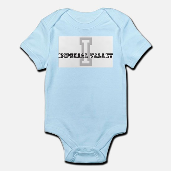 Imperial Valley (Big Letter) Infant Creeper