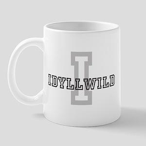 Idyllwild (Big Letter) Mug