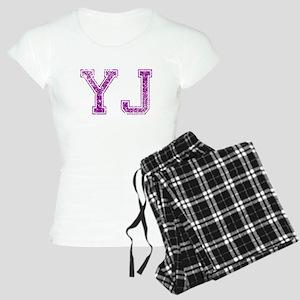 YJ, Vintage Women's Light Pajamas
