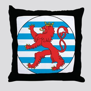 Luxembourg Roundel Throw Pillow