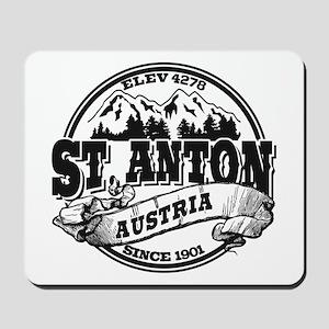 St. Anton Old Circle Mousepad