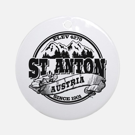 St. Anton Old Circle Ornament (Round)