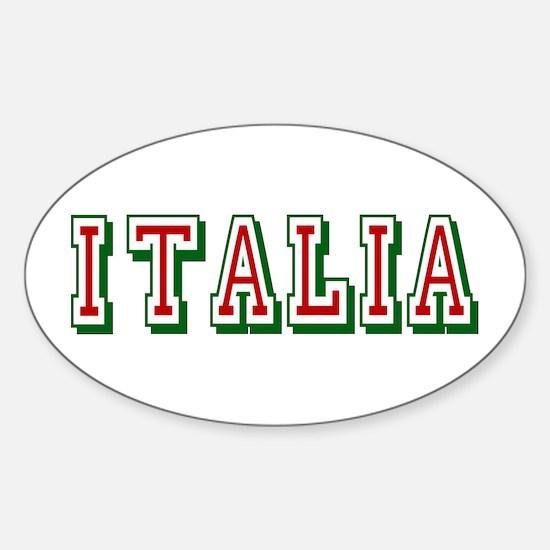 Italia Sticker (Oval)