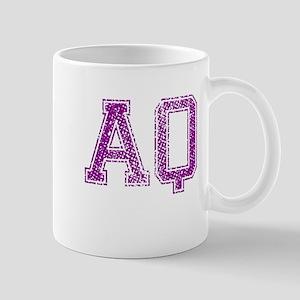 AQ, Vintage Mug
