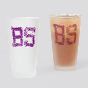 BS, Vintage Drinking Glass