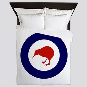 New Zealand Roundel Queen Duvet