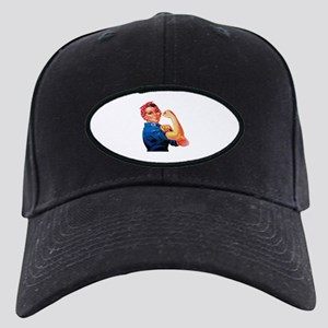 Rosie the Riveter Black Cap