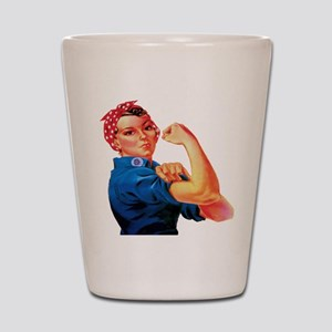 Rosie the Riveter Shot Glass